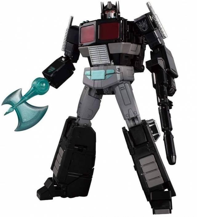 Transformers Deformation Toy Black Optimus Prime Autobot DX9 Figure w// Trailer
