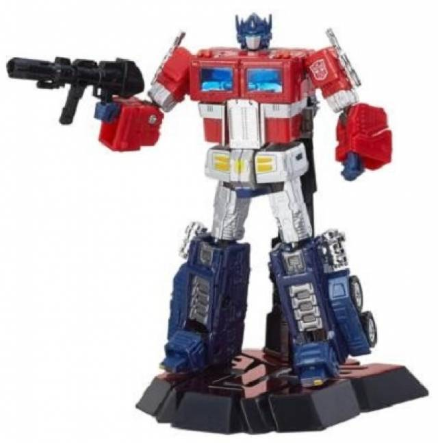 Transformers Platinum Series Optimus Prime | Year of the Rooster