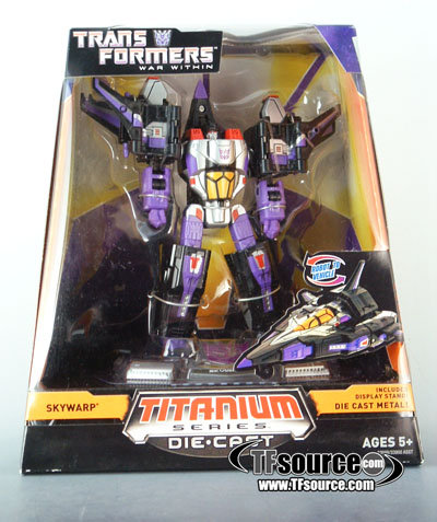 Titanium - Skywarp - SDCC Exclusive - MIB