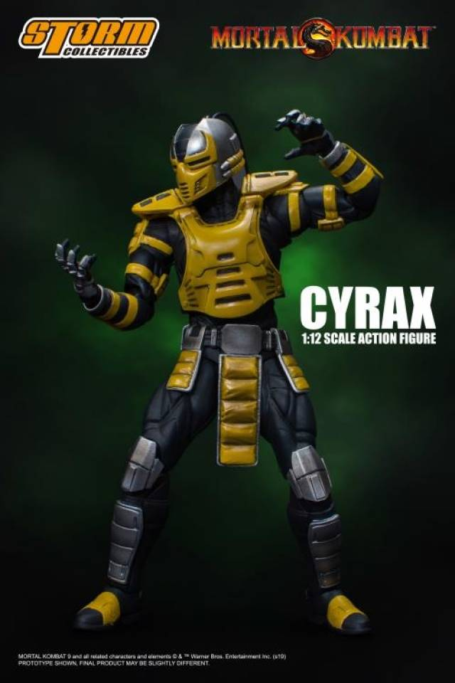 Storm Collectibles Mortal Kombat Cyrax | 1/12 Scaled Figure