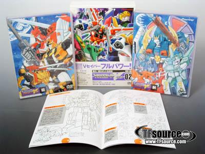 Transformers Victory Series - DVD Box Set 02