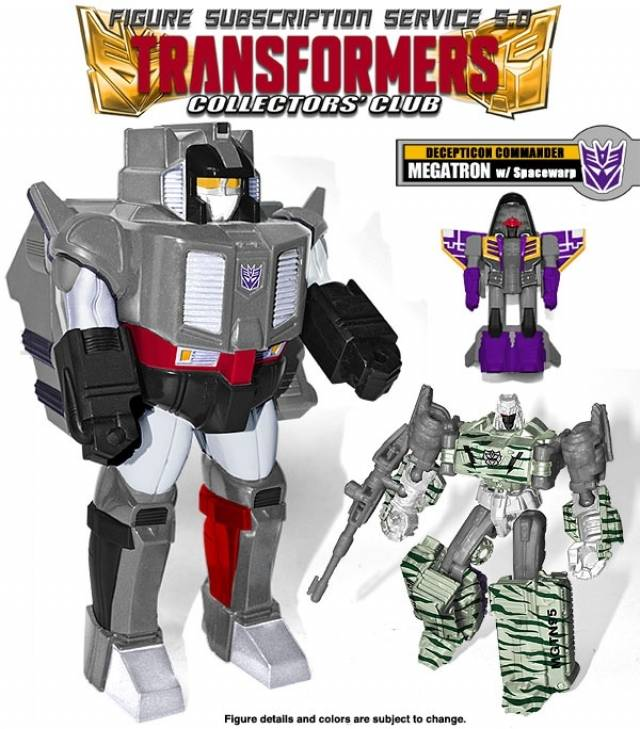 Transformers Subscription 5.0 - Megatron w/Space Warp - Loose 100% Complete