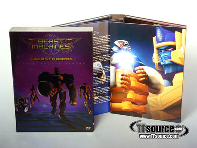 Transformers Beast Machines the Complete Series - DVD Box Set