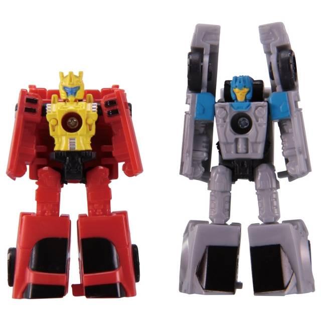 Transformers Generations War for Cybertron: Siege Micromaster Roadhandler & Swindler Autobot Race Car Patrol - MOC