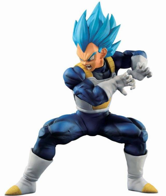 Bandai Spirits Dragon Ball Super Ichiban Kuji Super Saiyan God Super Saiyan Evolved Vegeta