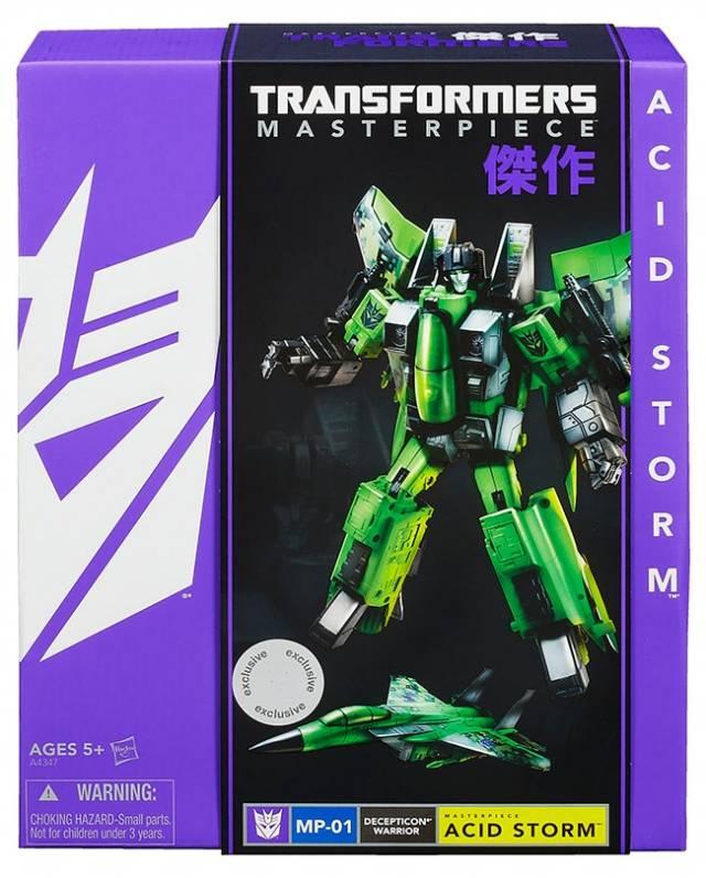 Transformers Masterpiece Acid Storm - SDCC Exclusive - MISB