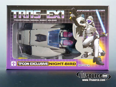 TFcon 2010 Exclusive - Night-Bird Figure - MISB