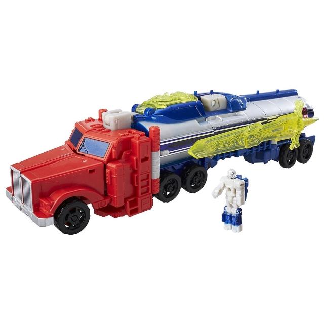Voyager Optimus Prime and Diac   Transformers Titans Return   100% Complete