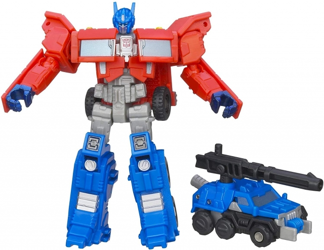 Transformers Optimus Prime and Autobot Roller   Legends Class