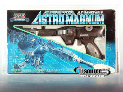 Pre Transformers - Grey Shockwave Astro Magnum - AFA 70