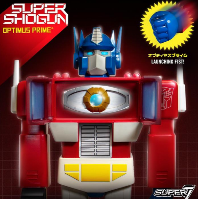 Transformers Super Shogun Optimus Prime