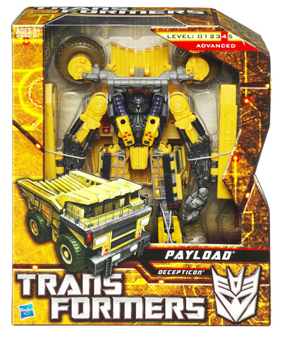 Transformers 2010 - Voyager Series 1 - Payload
