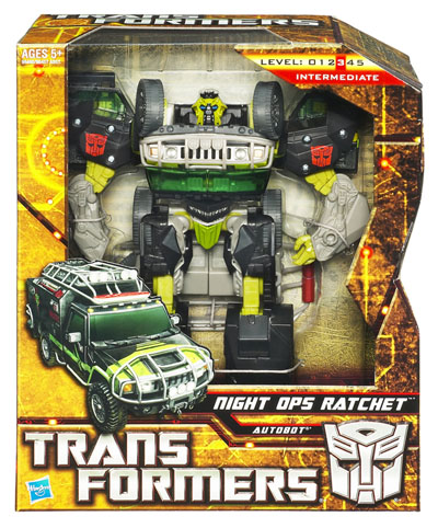Transformers 2010 - Voyager Series 1 - Autobot Ratchet Night Ops