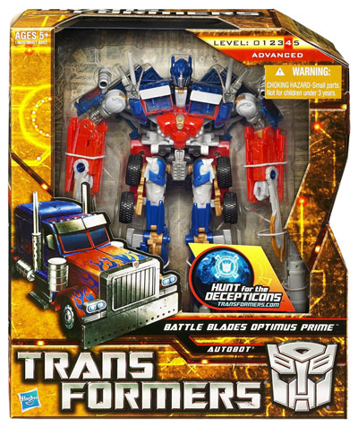 Transformers HFTD - Voyager Series 2 - Battle Blades Optimus Prime