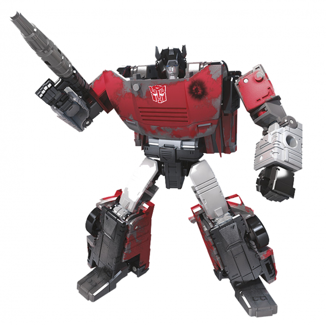 Transformers War for Cybertron Series-Inspired Deluxe Sideswipe | Netflix Edition