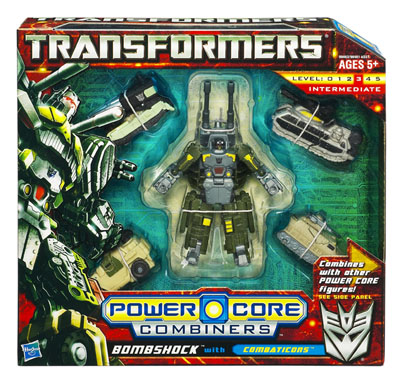 Transformers 2010 - Combiner Series 1 - Combaticons