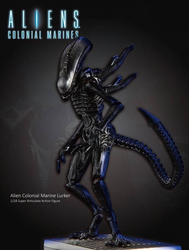 Aliens - Colonial Marines 1:18 Scale - 4'' Alien Lurker Action Figure
