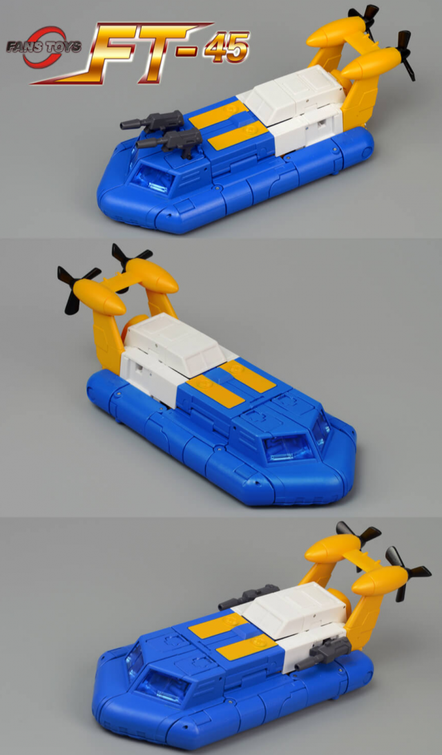 Main Image: FT-45 Spindrift 2.0 | Fans Toys