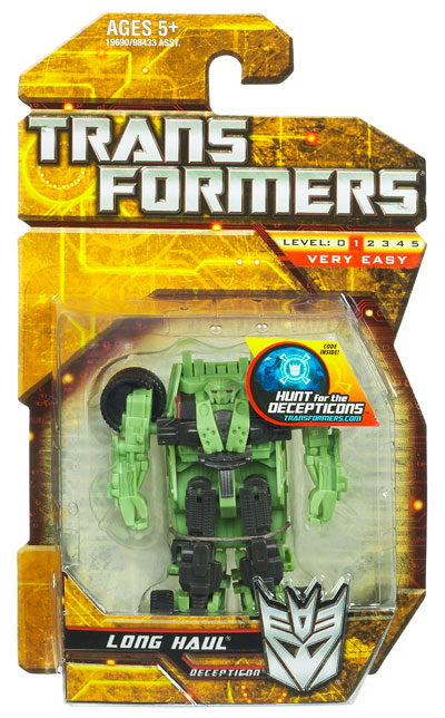 Transformers 2010 - Legends Series 01 - Long Haul