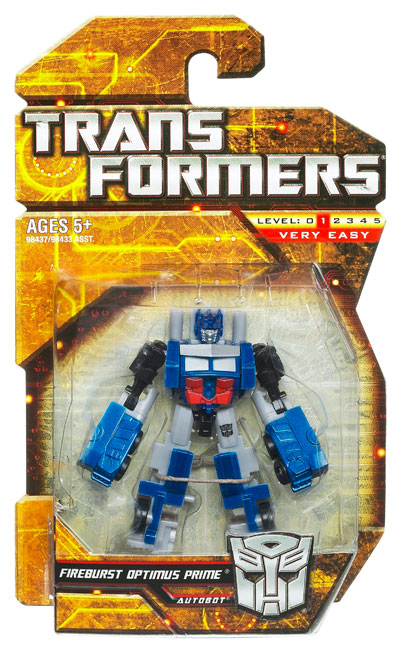 Transformers 2010 - Legends Series 01 - Fireburst Optimus Prime