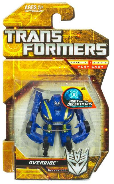 Transformers 2010 - Legends Series 01 - Override