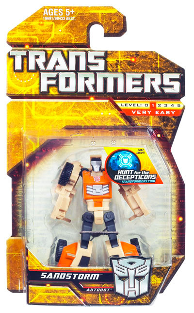 Transformers 2010 - Legends Series 01 - Sandstorm