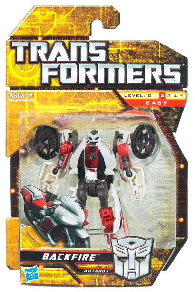 Transformers 2010 - Scout Series 1 - Backfire