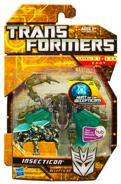 Transformers 2010 - Scout Series 2 - Insecticon