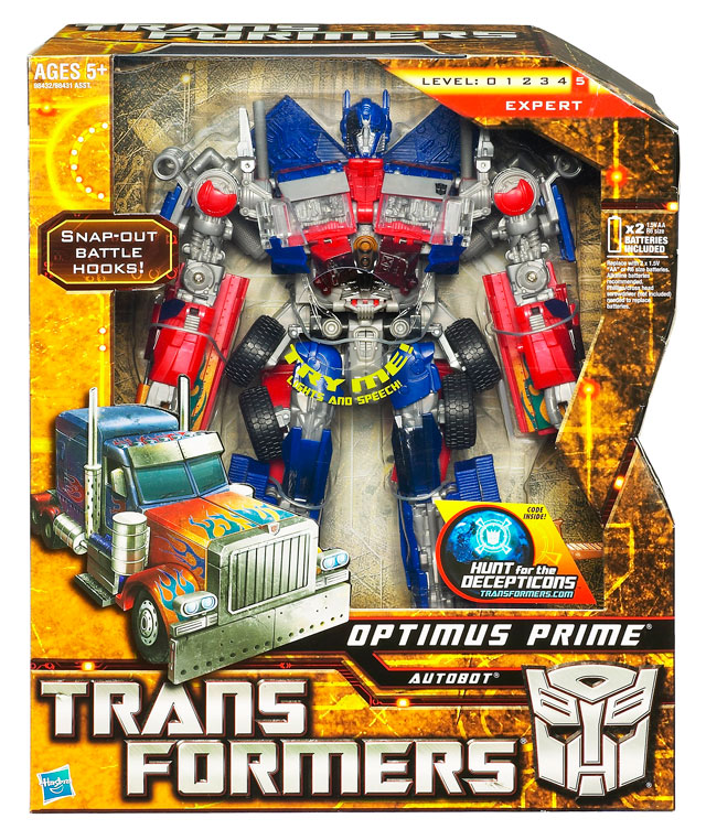 Transformers 2010 - Leader Series 01 - Battle Hook Optimus Prime