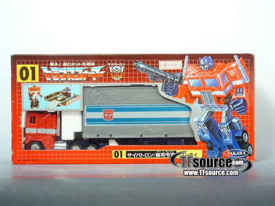 Japanese G1 - 01 Optimus Prime Convoy - MISB