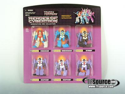Botcon 2003 - Heroes of Cybertron HOC Seeker Jets - MOSC