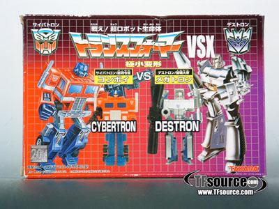 WST Worlds Smallest Transformers - Optimus Prime vs. Megatron