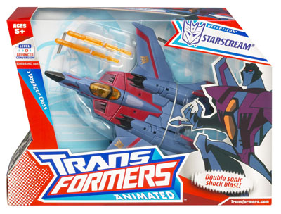 Transformers Animated - Voyager Class Starscream