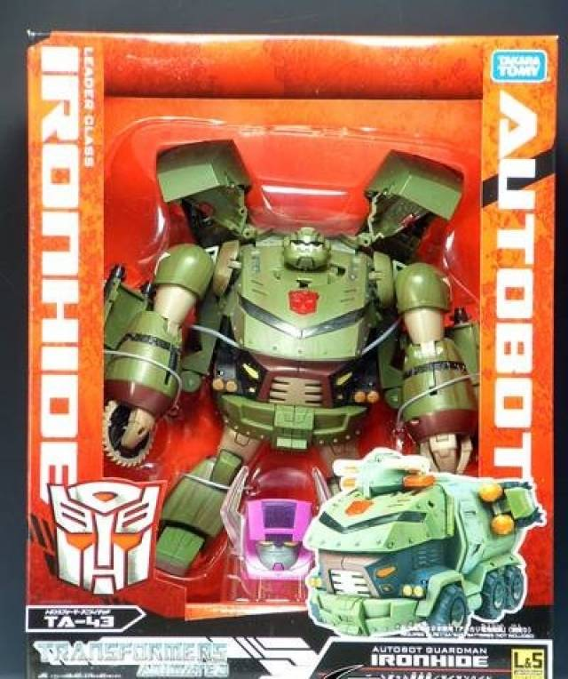 Japanese Transformers Animated - TA43 - Ironhide Bulkhead w Light and Sound