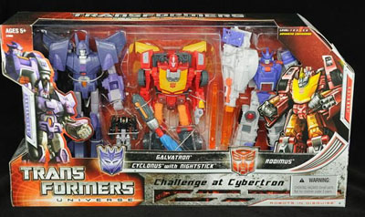 Classics - 3-Pack Hot Rodimus, Cyclonus and Galvatron
