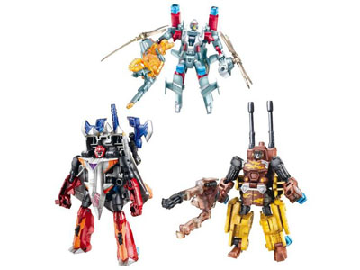 Transformers 2010 - Power Core Combiner 2-Pack - Series 03 - Set of 3