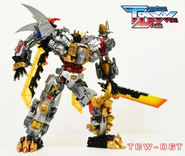 In Hand Transformers TDW-06 TCW-06 Upgrade Set for Dinobots Toys Hero