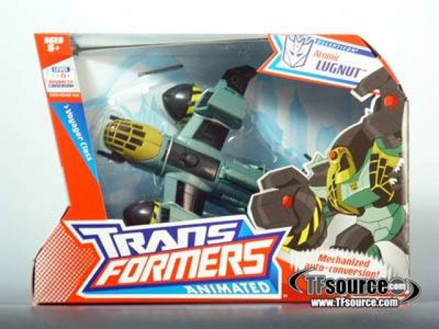 Transformers Animated - Voyager Class Atomic Lugnut