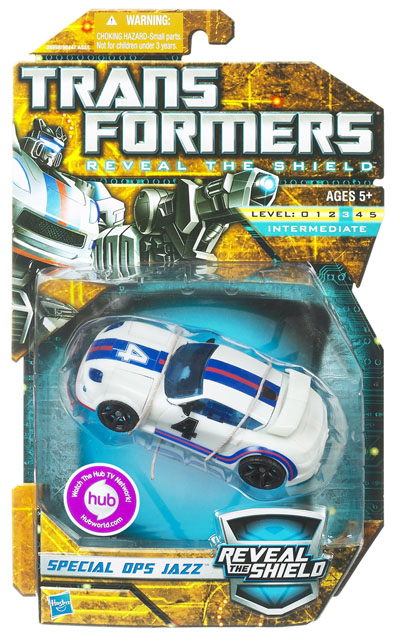 Transformers 2011 - Deluxe Series 01 - Special Ops Jazz