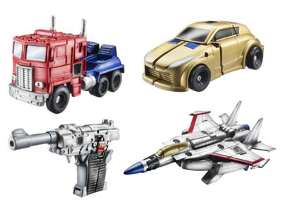 Transformers 2011 - Legends Series 01 - Set of 4 Figures
