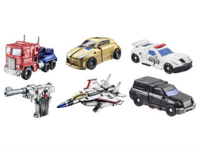 Transformers 2011 - Legends Series 02 - Set of 6 Figures