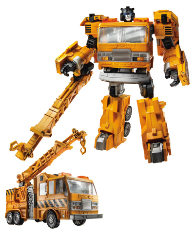 Transformers 2011 - Voyager Series 1 - Solar Storm Grapple