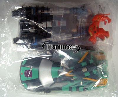 Botcon 2008 Blurr, Sideswipe & Rampage Set