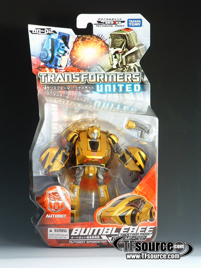 Transformers United - UN-02 Bumblebee Cybertron Mode