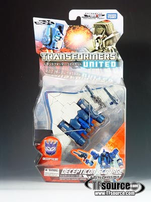 Transformers United - UN-21 Decepticon Scourge