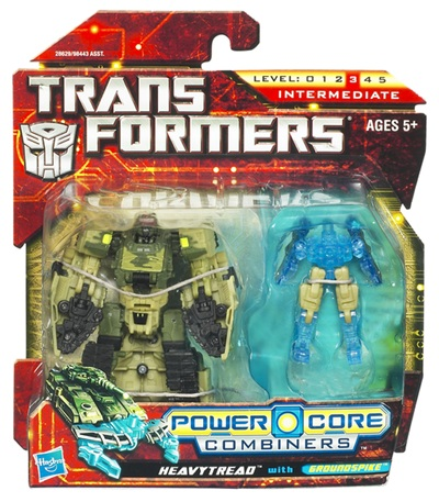 Transformers 2011 - Power Core Combiner 2-Pack - Heavytread w/ GroundSpike