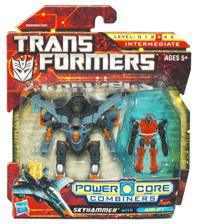 Transformers 2011 - Power Core Combiner 2-Pack - Skyhammer w/ Airlift