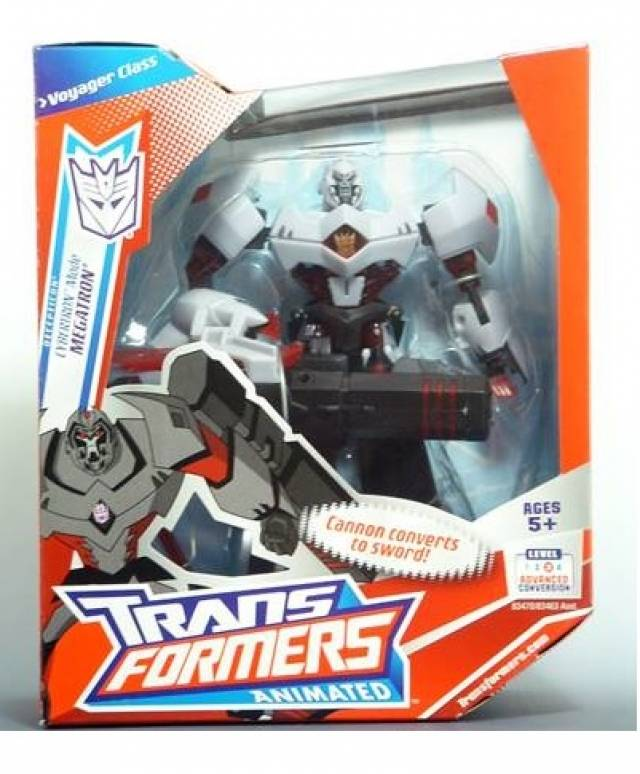 Transformers Animated - Voyager Class Megatron - Robot Mode - MISB
