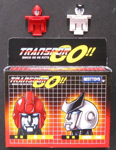 Ironhide & Ratchet Set of Custom Heads