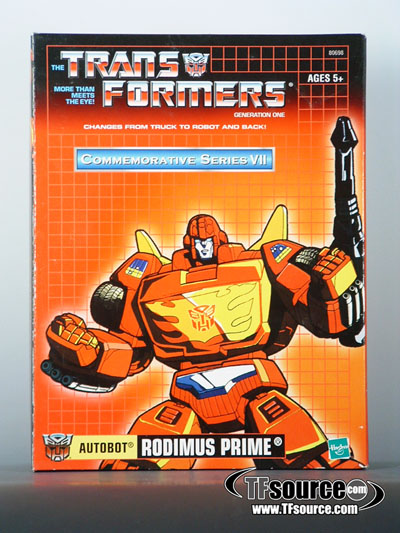 Reissue Commemorative Series - Rodimus Prime - 2nd Wave